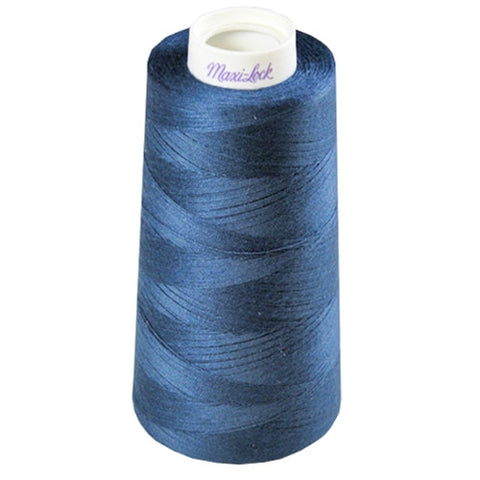 Maxilock Serger Thread in Medium Navy, 3000yd Spool