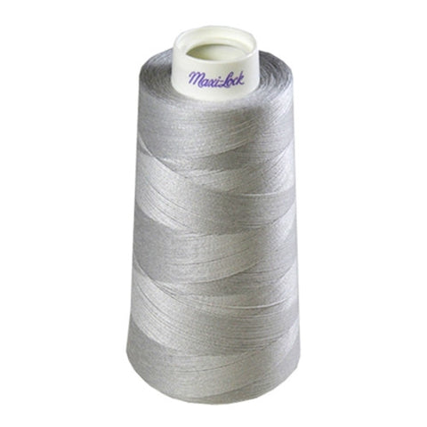 Maxilock Serger Thread in Silver, 3000yd Spool