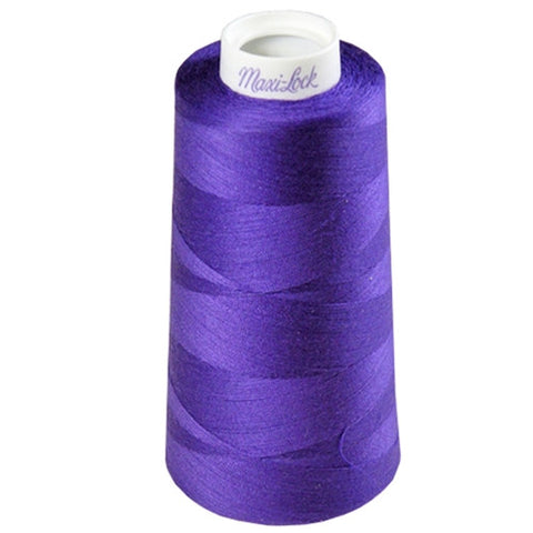 Maxilock Serger Thread in Purple, 3000yd Spool
