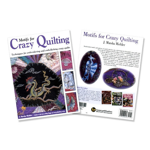 Motifs for Crazy Quilting Book by J Marsha Michler