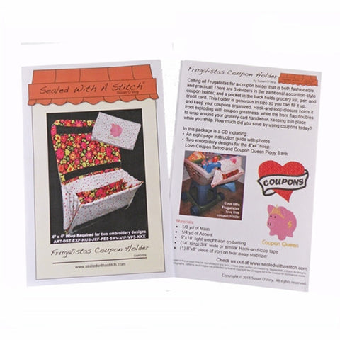 Frugalistas Coupon Holder Pattern & Designs