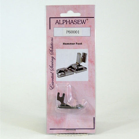 "1/4"" Low Shank Hemmer Foot by Alphasew"