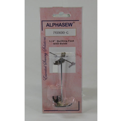 "Low Shank 1/4"" Patchwork Foot with Guide by Alphasew"