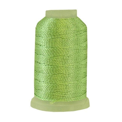 YLI Pearl Crown Rayon in Sea Green, 100yd Spool