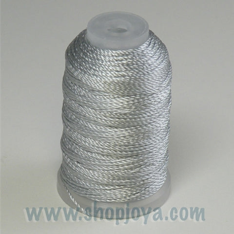 YLI Pearl Crown Rayon in Silver, 100yd Spool