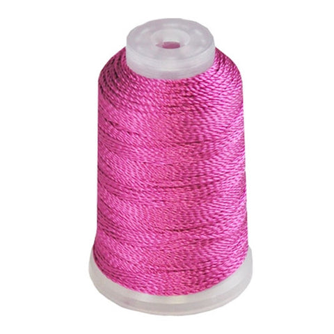 YLI Pearl Crown Rayon in Light Fuchsia, 100yd Spool