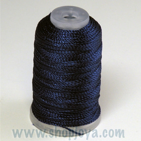 YLI Pearl Crown Rayon in Navy, 100yd Spool