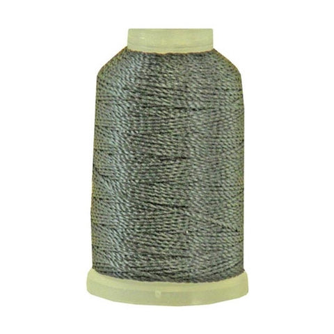 YLI Pearl Crown Rayon in Black, 100yd Spool