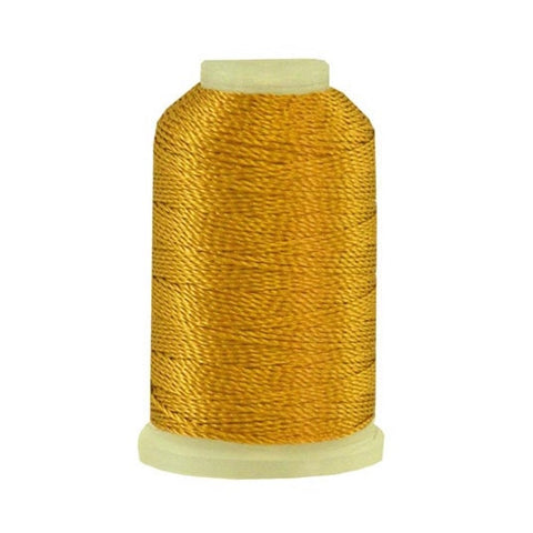 YLI Pearl Crown Rayon in Golden Glow, 100yd Spool