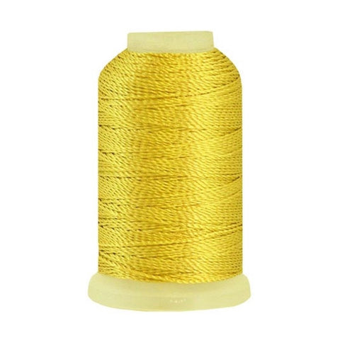 YLI Pearl Crown Rayon in Gold, 100yd Spool