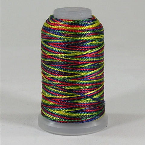 YLI Pearl Crown Rayon in Primary & Brights, 100yd