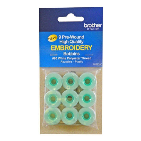 Brother 90wt Prewound Bobbins