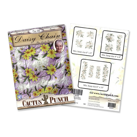 Daisy Chain Embroidery CD by Cactus Punch