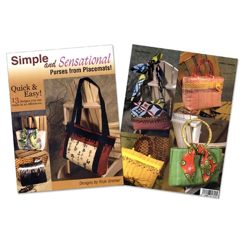 Simple & Sensational Purses from Placemats Book