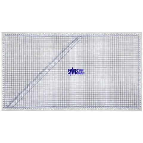 Large Cutting Mat for use with Rotary Cutters and Scissors Measuring 40 x 72 inches