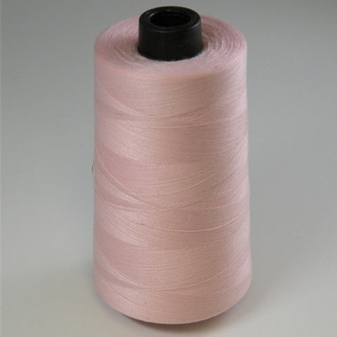 Spun Polyester in Light Pink, 6000yd Spool