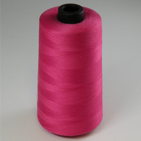 Spun Polyester in Hot Pink, 6000yd Spool
