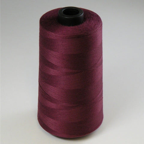 Spun Polyester in Burgundy, 6000yd Spool