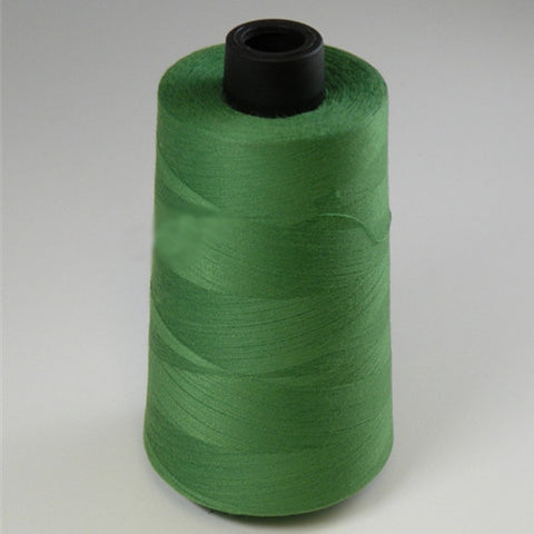Spun Polyester in Green, 6000yd Spool