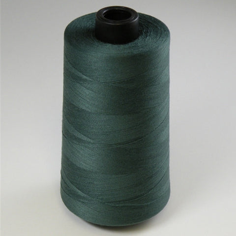 Spun Polyester in Forest Green, 6000yd Spool