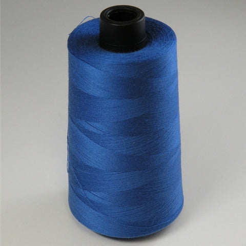 Spun Polyester in Royal Blue, 6000yd Spool