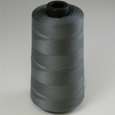 Spun Polyester in Dark Grey, 6000yd Spool