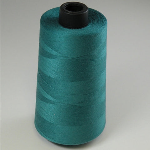 Spun Polyester in Teal, 6000yd Spool