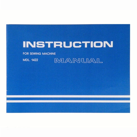 Instruction Book for White 1422