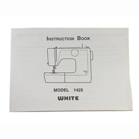 Instruction Book White 1425