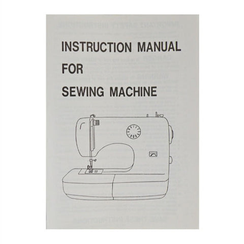 Instruction Book for White W2000 Sewing Machine