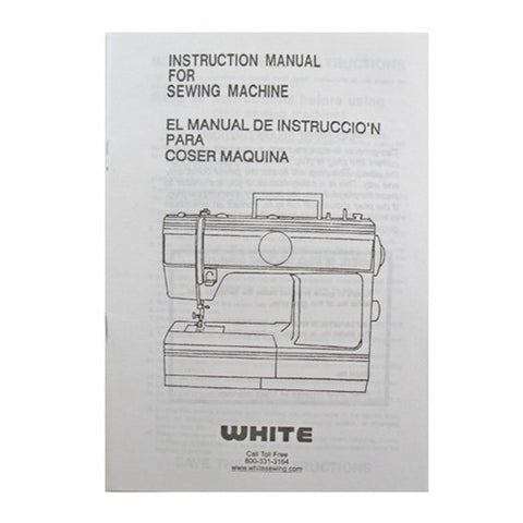 Instruction Book for White 1126