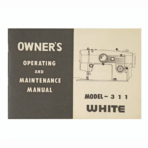 Instruction Book for White 311