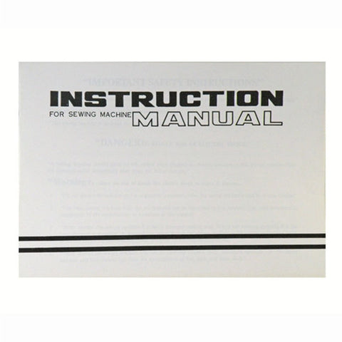 Instruction Book for White 1415