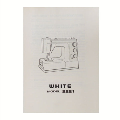 Instruction Book White 2221