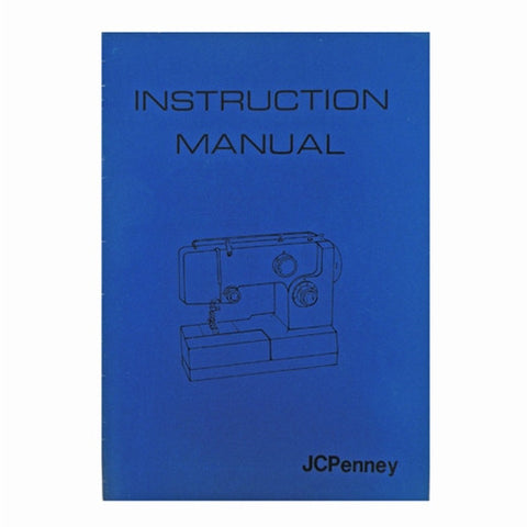 Instruction Book JC Penney 7000