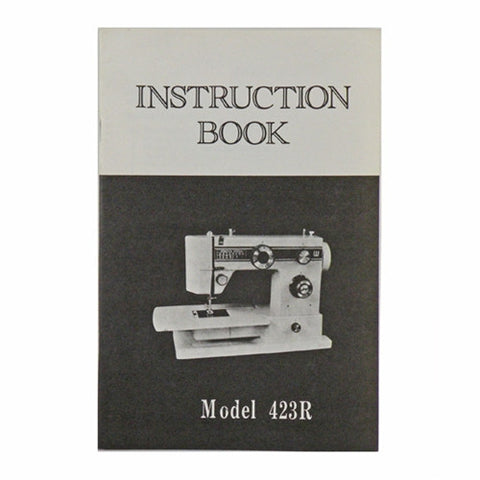 Instruction Book for White 423
