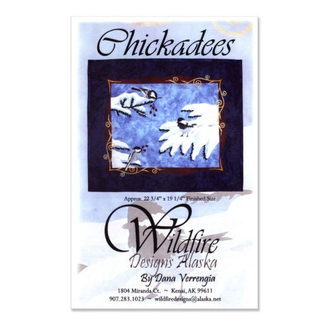 Chickadees by Wildfire Designs Alaska