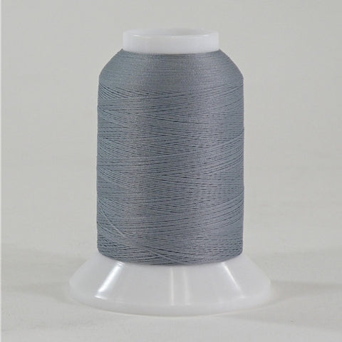 YLI Woolly Nylon in Grey, 1000m Spool