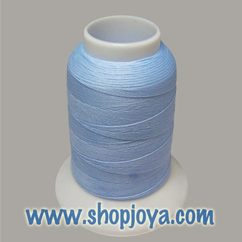 YLI Woolly Nylon in Light Blue, 1000m Spool