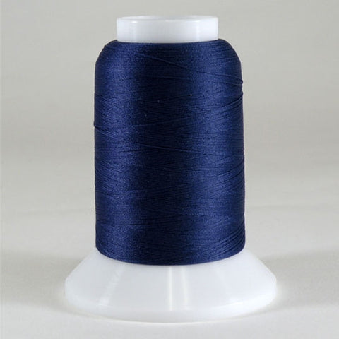YLI Woolly Nylon in Navy, 1000m Spool