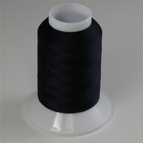 YLI Woolly Nylon in Dark Navy, 1000m Spool