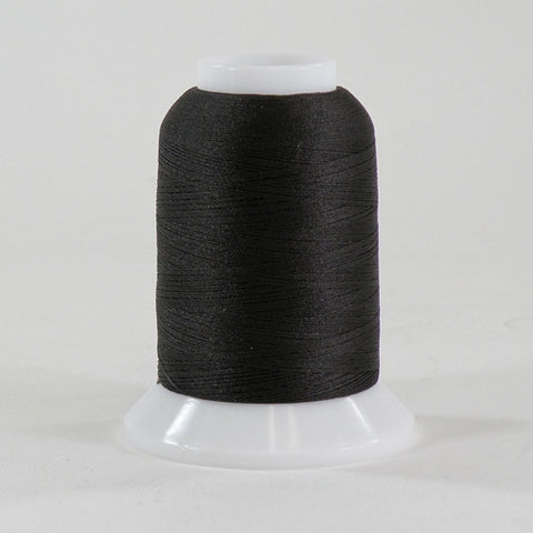 YLI Woolly Nylon in Deep Brown, 1000m Spool