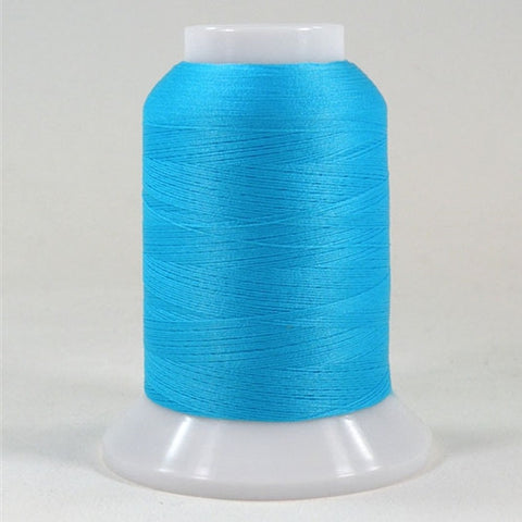 YLI Woolly Nylon in Radiant Turquoise, 1000m Spool