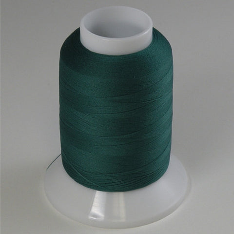YLI Woolly Nylon in Hunter Green, 1000m Spool