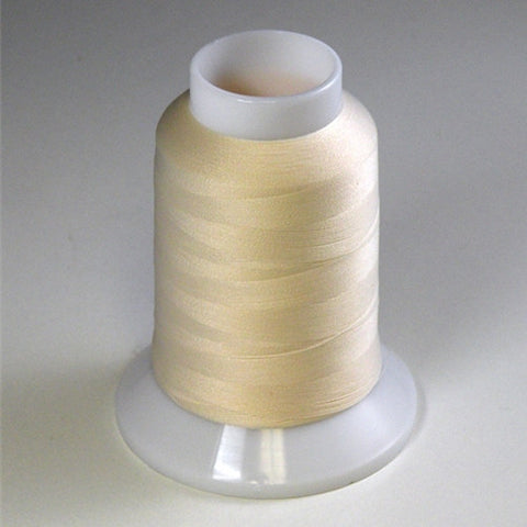 YLI Woolly Nylon in Natural, 1000m Spool