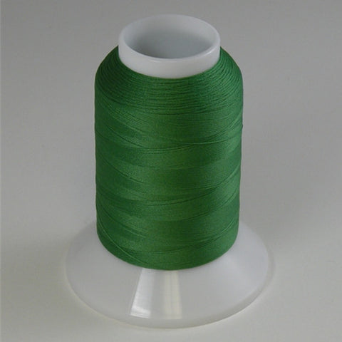 YLI Woolly Nylon in Xmas Green, 1000m Spool