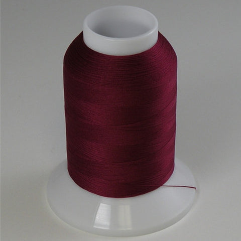YLI Woolly Nylon in Chestnut Red, 1000m Spool