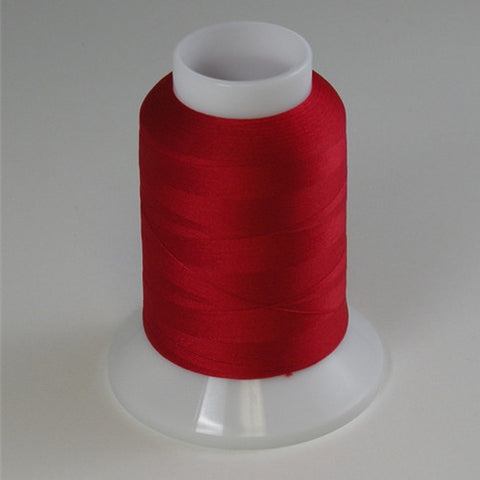 YLI Woolly Nylon in Red, 1000m Spool