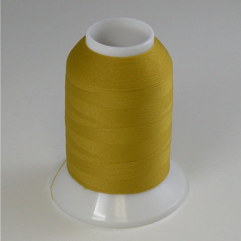 YLI Woolly Nylon in Gold, 1000m Spool