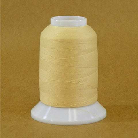 YLI Woolly Nylon in Eggshell, 1000m Spool